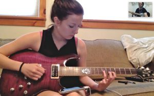 FaceTime guitar lessons
